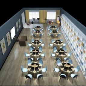 现代商务办公3D模型【ID:931973027】