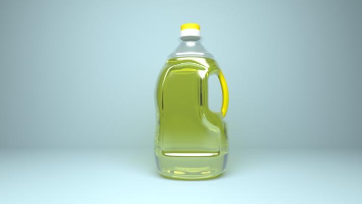 现代食用油 油桶