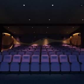 现代电影院3D模型【ID:630630803】
