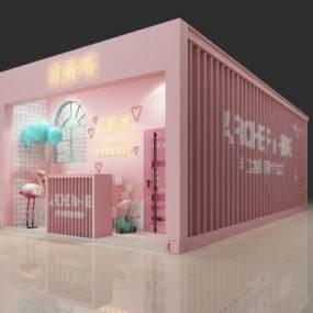 现代VR视角体验馆3D模型【ID:832086790】