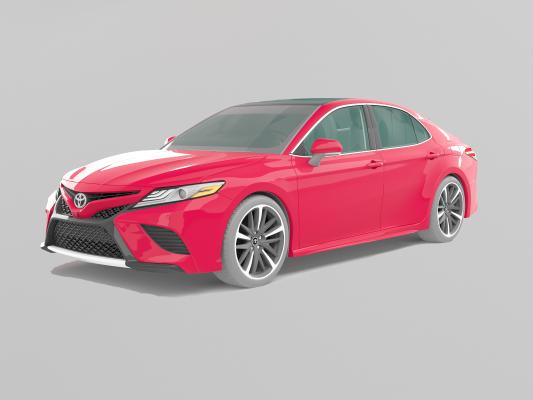 丰田凯美瑞汽车模型3D模型【ID:443774743】