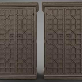 現代風格装饰柜3D模型【ID:148659484】