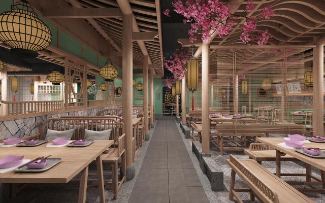 新中式中餐厅