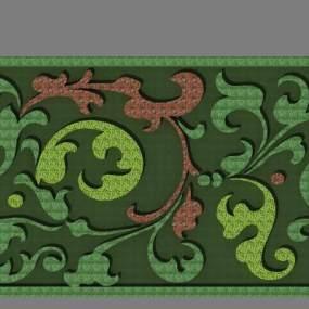 绿篱图案3D模型【ID:133079493】