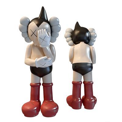 现代阿童木kaws摆件3D模型【ID:252103500】
