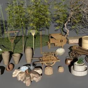 现代农作物工具3D模型【ID:230941597】
