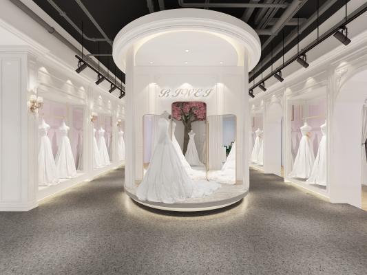 婚纱店3D模型【ID:942541999】