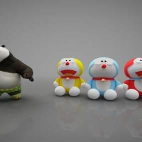 现代风格儿童玩具3D模型【ID:352885490】