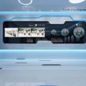 現代警隊展廳3D模型【ID:943468968】