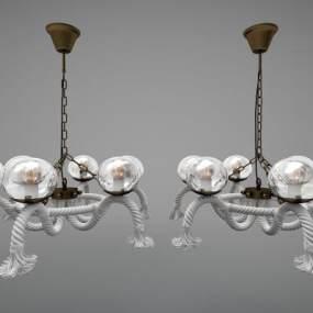 現代風格吊燈3D模型【ID:748836867】