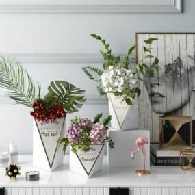 北欧ζ花瓶饰品摆件3D快三追号倍投计划表【ID:233403535】