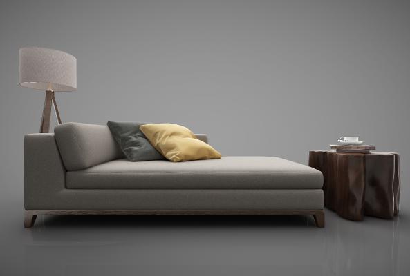 新中式风格沙发3D模型【ID:644465623】