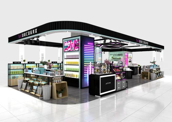 化妆品集合店