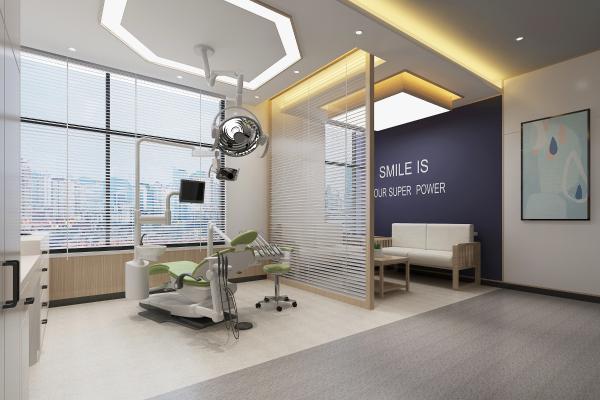 现代牙科医疗诊室3D模型【ID:940018785】