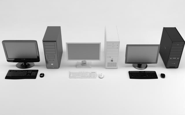 现代电子产品3D模型【ID:449814064】