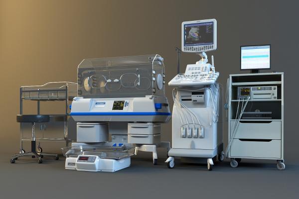 医疗器材3D模型【ID:941625728】