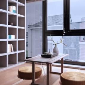 现代茶室3D模型【ID:653391124】