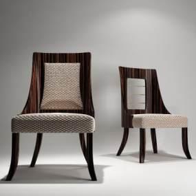 现代餐椅3D模型【ID:733785187】