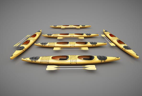 現代風格小船3D模型【ID:443145868】