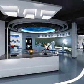 現代科技展廳3D模型【ID:948844783】