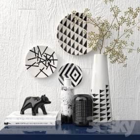 现代花瓶摆件国外3D快三追号倍投计划表【ID:230428514】