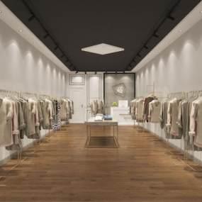 服装店3D模型【ID:143793024】