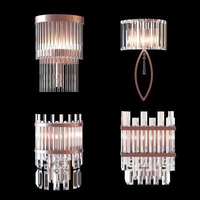 现代水晶壁灯