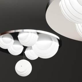 现代创意个性吸顶灯3D模型【ID:737691834】