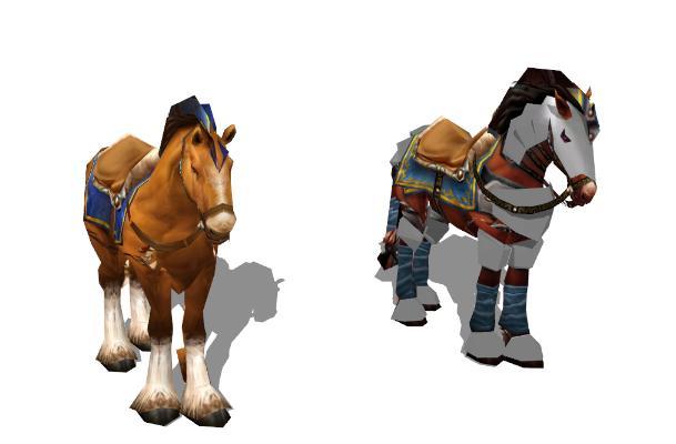 現代馬SU模型【ID:351890839】