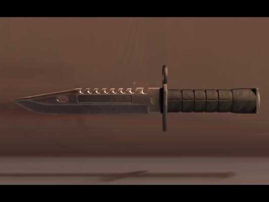 现代csgoM9刺刀高模
