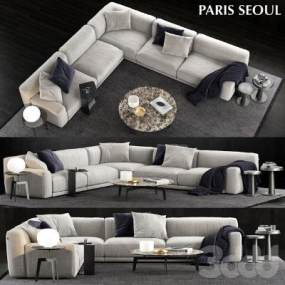 沙发Poliform ParisSeoulSofa】