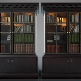 现代风格装饰柜3D模型【ID:148659159】