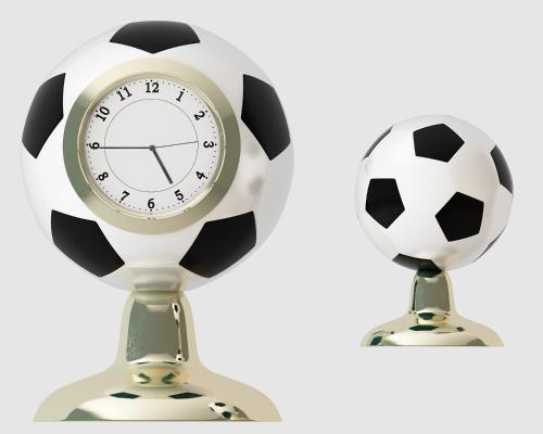 现代足球时钟3D模型【ID:335759392】