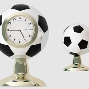 現代足球時鐘 3D模型【ID:335759392】