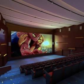 现代电影院3D模型【ID:643468858】
