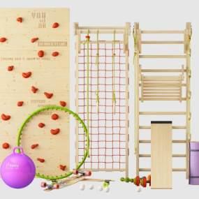 现代瑜伽球3D模型【ID:337133828】