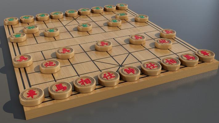 象棋3D模型【ID:340629613】
