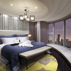 现代酒店3D模型【ID:845647741】