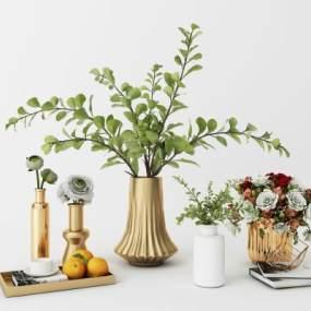 現代花瓶3D模型【ID:246937519】