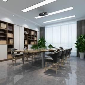 現代會議室3D模型【ID:948095116】