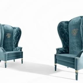 现代单人沙发3D模型【ID:630723435】
