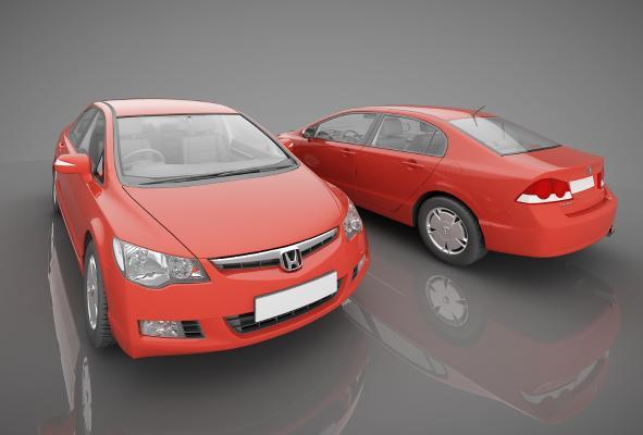 现代风格小汽车3D模型【ID:441854792】