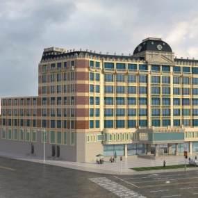 欧式简约酒店3D模型【ID:135022672】