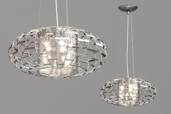 现代金属球形吊灯