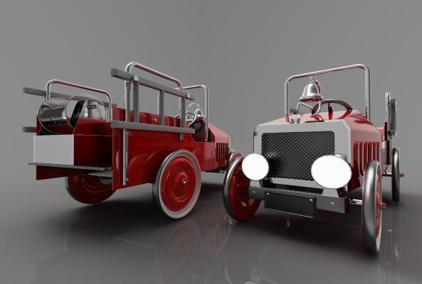 現代風格小汽車3D模型【ID:443415731】