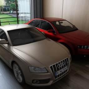汽车私家车3D模型【ID:432198746】