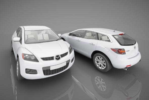 现代风格小汽车3D模型【ID:441858708】