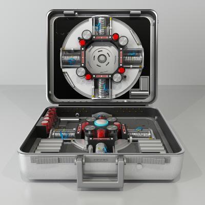 科幻機械3D模型【ID:441463284】