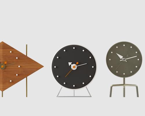 现代创意时钟组合3D模型【ID:335759373】