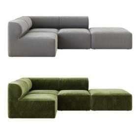 现代沙发3D模型【ID:645765680】